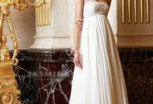 Svatební šaty - splývavé