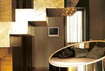 Metallic Interiors / Love a bit of bling!