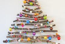 Weihnachtsbäume / in ihrer Vielfalt