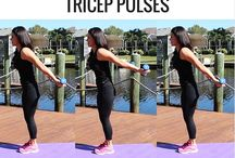 Workout triceps