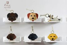 Key Fobs / Remember your favorite mascot each time you reach for the keys.  Our motif key fobs are handcrafted in full grain Cowhide leather and feature a sturdy key ring for years of continued use and compliments from your friends each time these lovely animals appear.