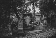 "My Work part1 / ""Days of Old"" Old film style photos of Père Lachaise cemetery."