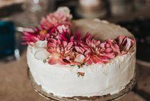 WEDDING | Cake Inspo / Wedding cake inspiration - naked caked, drip cakes, doughnut cakes, cheese cakes