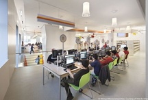 Library Spaces / snaps of library learning spaces