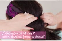 Summer Hair Scarf