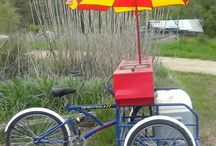 Vending Cargo Bikes of Today and Yesterday