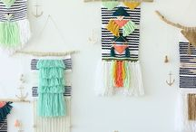 weaving and macrame