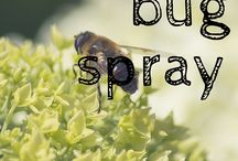 Homemade bug repellent