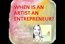 Business of Art / For my artist friends who want to learn to sell their work online and offline :)