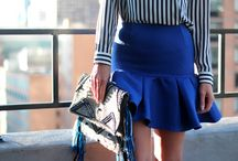 Fluted skirts