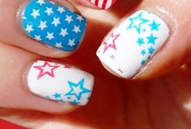 Nails Independence Day