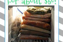 Freezer/Make Ahead Meals / by Kimberly Skoglund