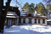 Дом деревянные элементы