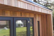 western red cedar house