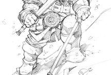 Art | Male dwarf