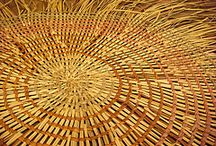 Wicker and rattan art