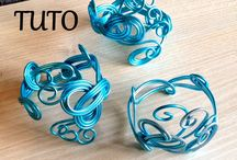 Bracelets en fil