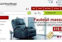 Liveyourhouse /  LiveYourHouse est la boutique en ligne spécialisée dans la vente par Internet de produits ménagers. Nous offrons des prix avantageux tout en maintenant la ligne de sécurité et de confiance.