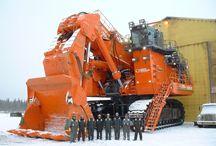 Diggers/Big machines