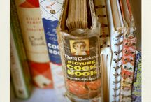 """Vintage Cookbooks """"Nectar of the Gods"""" / Cookbooks: the gift that keeps on giving....long after the giver of the gift has had to leave us."""