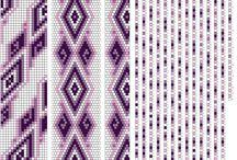 háčkované vzory