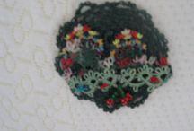 textile/fibre jewelry