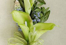 Blue and green wedding ideas