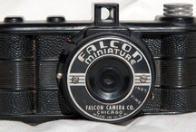 Falcon Camera Co / New York in 1934 - Utility Mfg. Co. camera brand was Falcon,  In 1941 it was bought by Spartus Corp., and moved to Chicago. 1951 its head of sales, Harold Rubin, bought the company and named it Herold Mfg. Co..  It made cameras of its own brand Spartus. (Camerapedia)