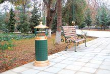 Lenin Parkı Türkmenistan / Türkmenistan'daki Lenin Parkı Bank ve Aydınlatma çalışmaları