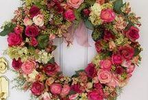 arranjos com plantas e flores