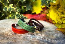 Leaher Accessories - CuoioVivo / A collection of leather accessories, like bracelets, keychains and much more. // Una collezione di accessori in pelle, come braccialetti, portachiavi e tanto altro.