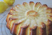 Gâteau nuage lait concentré et citron