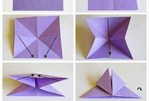 мобиль оригами