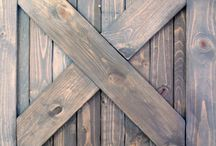 color wasching barn door