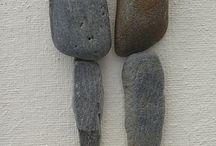 Steine einmal anders / mit Steinen basteln, Steine bemalen