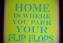 flip flops / by Wanda