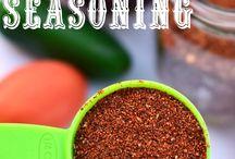 Favorite Recipes  - seasonings / by Patty Hale Prange