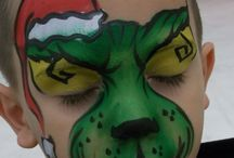 Christmas Face Painting Inspiration / Christmas face painting design ideas to help inspire you all Holiday season long