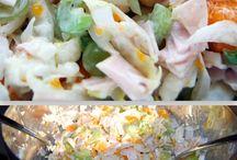 Recipes salades