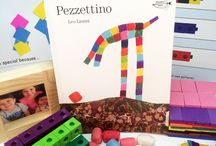Pezzettino by Leo Lionni - Ivy Kids January 2016 activity kit / Ivy Kids Subscription Activity Kit including math, literacy, and science activities inspired by the children's book Pezzettino by Leo Lionni.