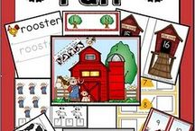 Farm Theme Fun  / by Tiffany Scott