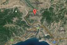 THE MAP OF AMPHIPOLIS / THE MAP OF AMPHIPOLIS.INFORMATION ABOUT YOUR ARRIVAL IN AMPHIPOLIS