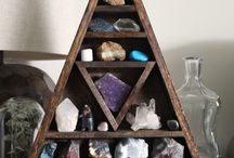 Rocks-gems-stones.Crystal and Mineral collection.