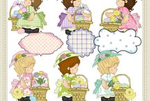Clip Art - Easter / in here are Easter holiday clip art, designer tools and digital papers ... all available at www.clip-art-designs.com