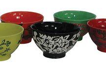 Chinese Tableware / Teapot Sets, Rice Bowls. Chopstick Sets and Sake Jars