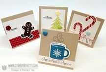 Simple & Fun Holiday Cards / by Stampin' Up!