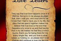 love letters pretty