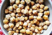 Chickpea Recipes / Recipes using chickpeas / healthy chickpea recipes, roasted chickpeas, low calorie chickpea recipes, easy chickpea recipes