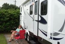 RV and Travel trailer / by Demetris Cherry