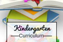 Kindergarten Homeschool / by Kim Pfotenhauer